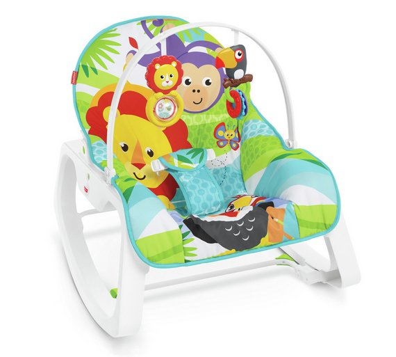 buy fisher price infant to toddler rocker baby bouncers argos