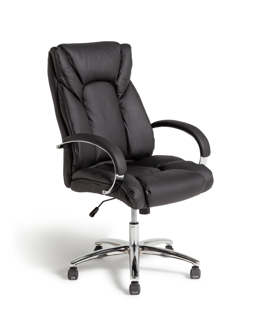 Argos Home Leather Faced Office Chair