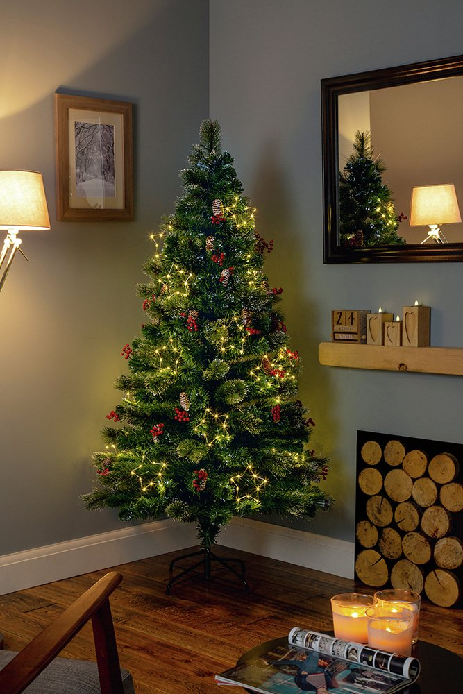 premier-decorations-4ft-white-led-snow-tipped-tree-green