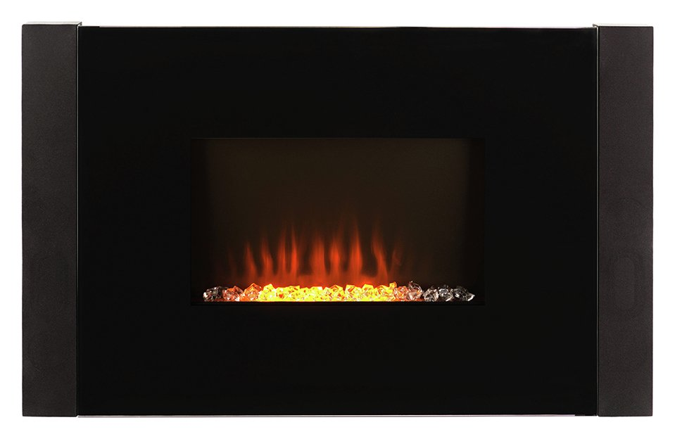 Image of Beldray Atlanta 2kW Colour Changing Audio Wall Fire