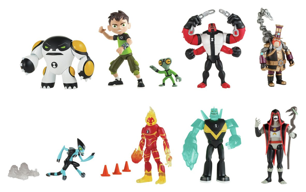 Image of Ben 10 Action Figure Assortment
