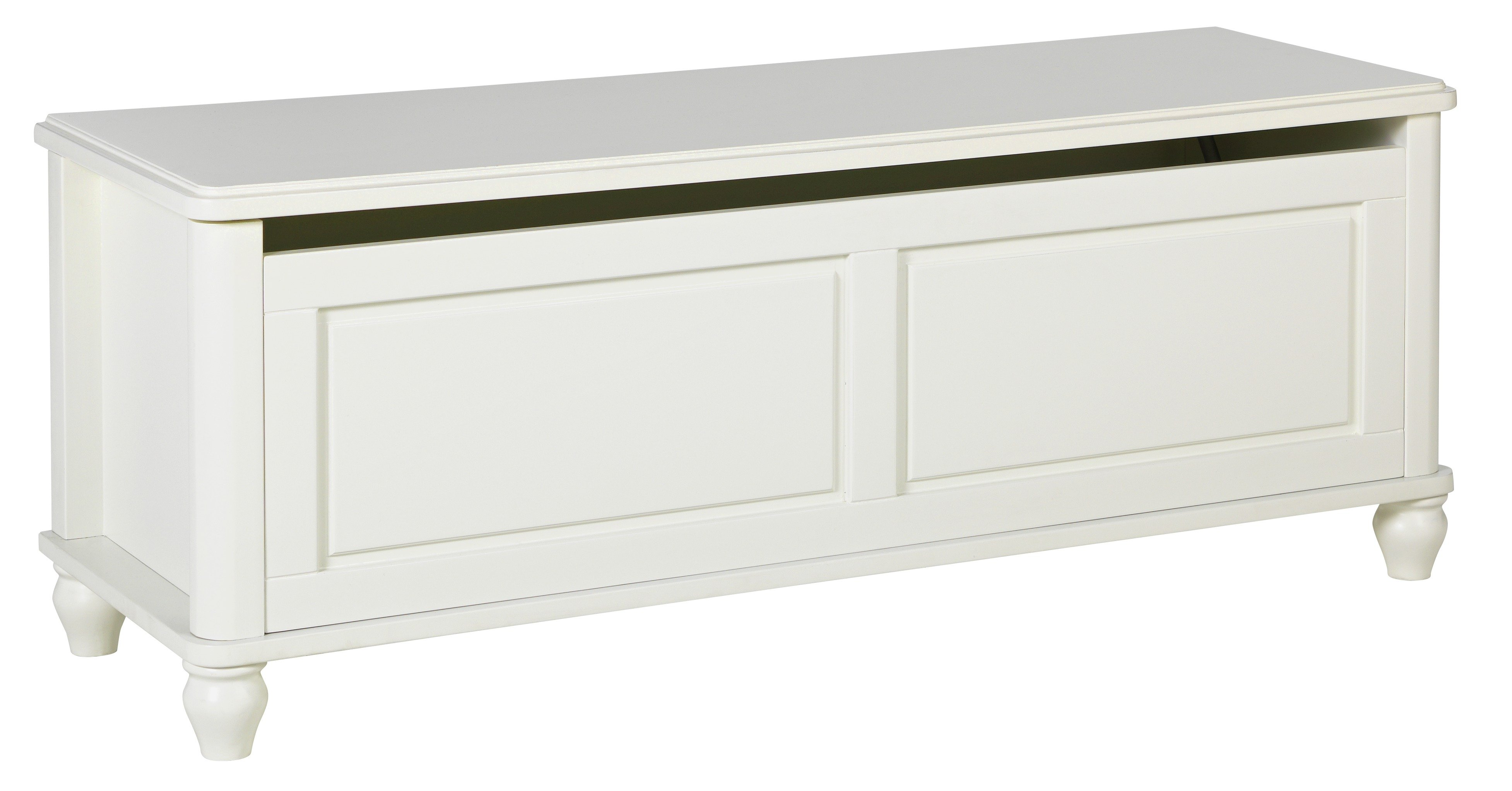 Argos Home Ashbourne Blanket Box - Ivory