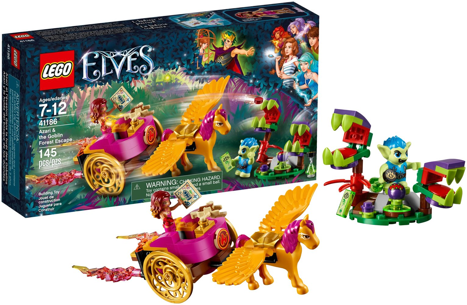 LEGO Elves Azaria & Goblin Escape - 41186