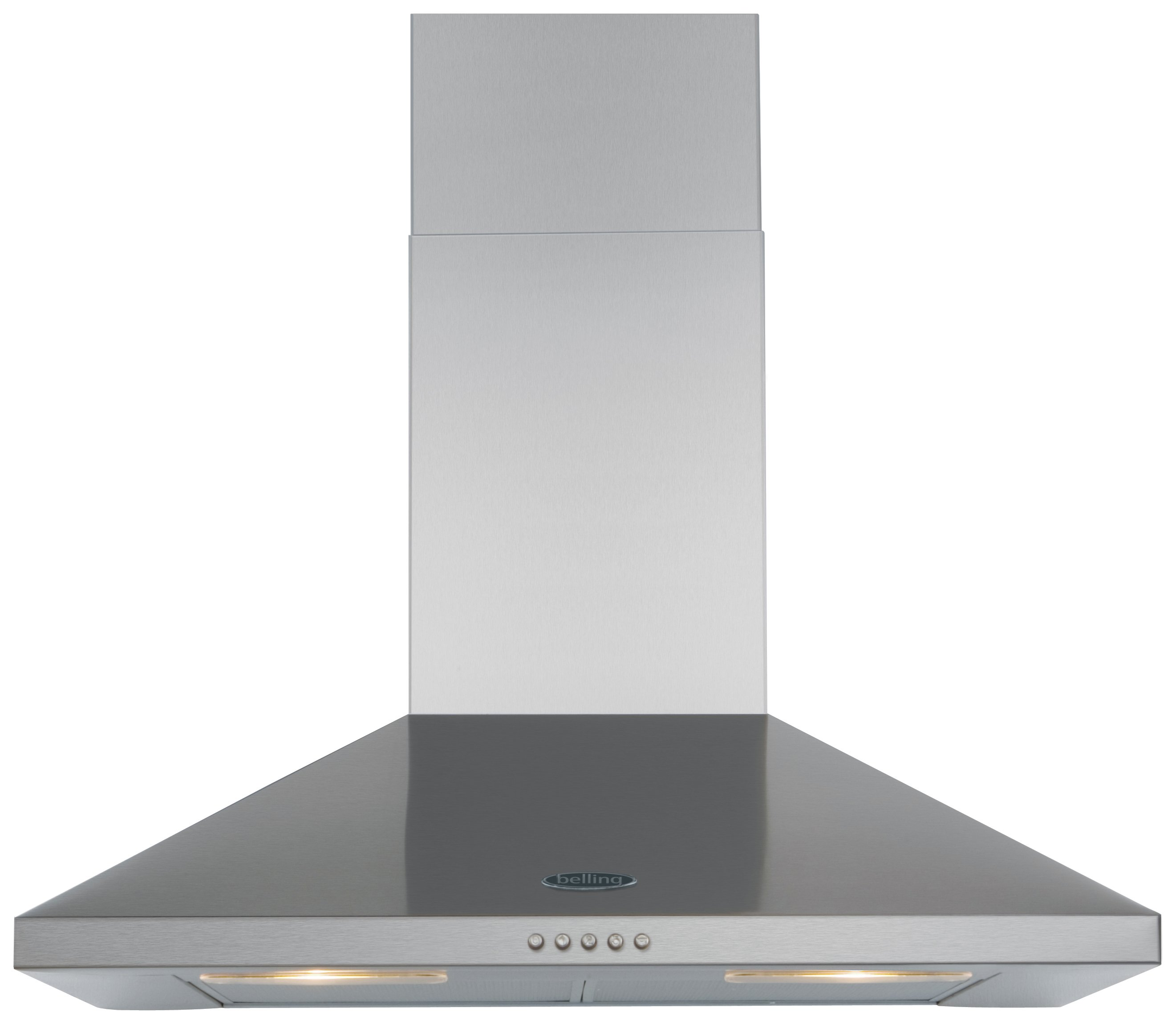 Image of Belling 70CHIM 70cm Cooker Hood - Stainless Steel
