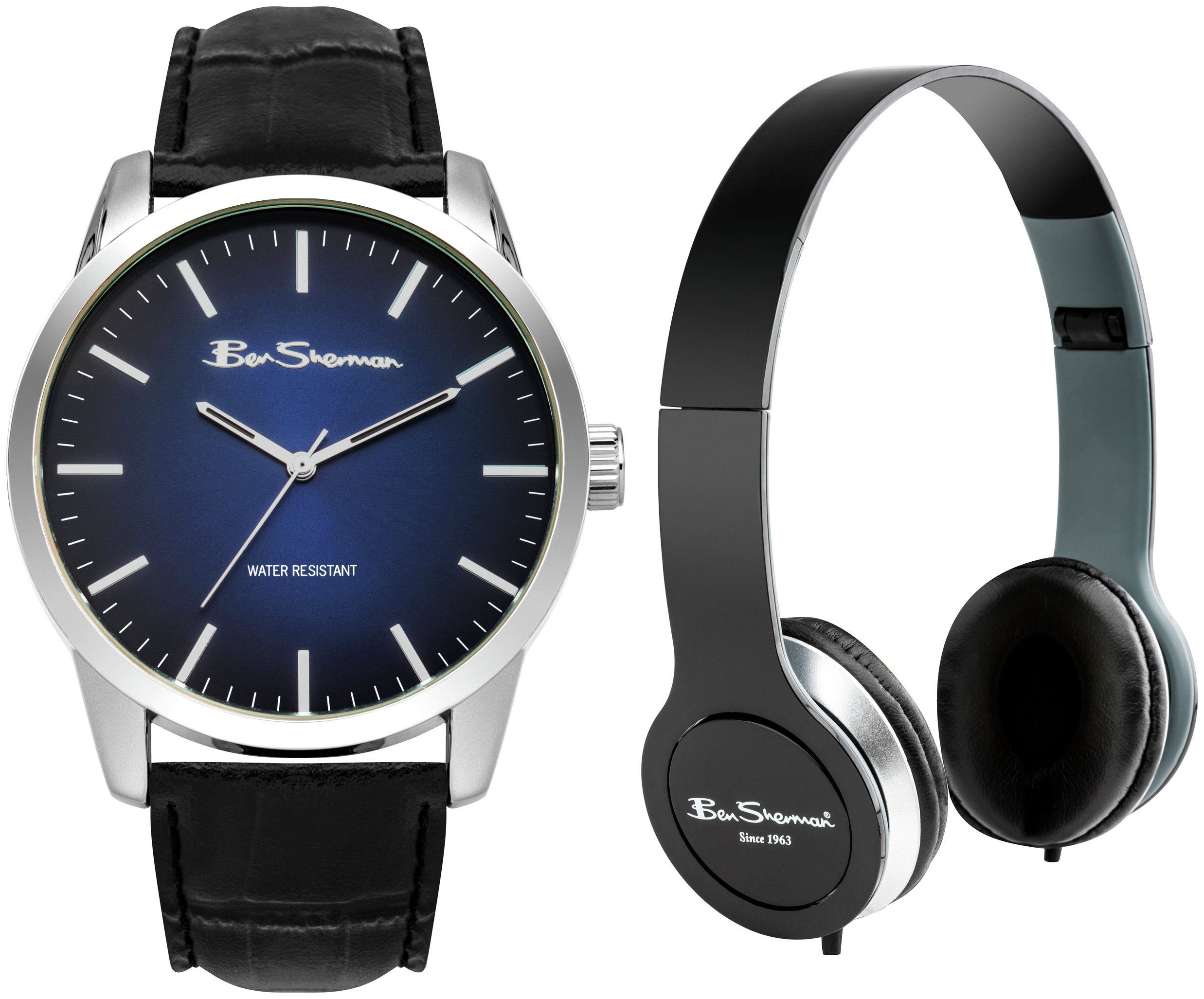 Image of Ben Sherman Watch and Headphone Set