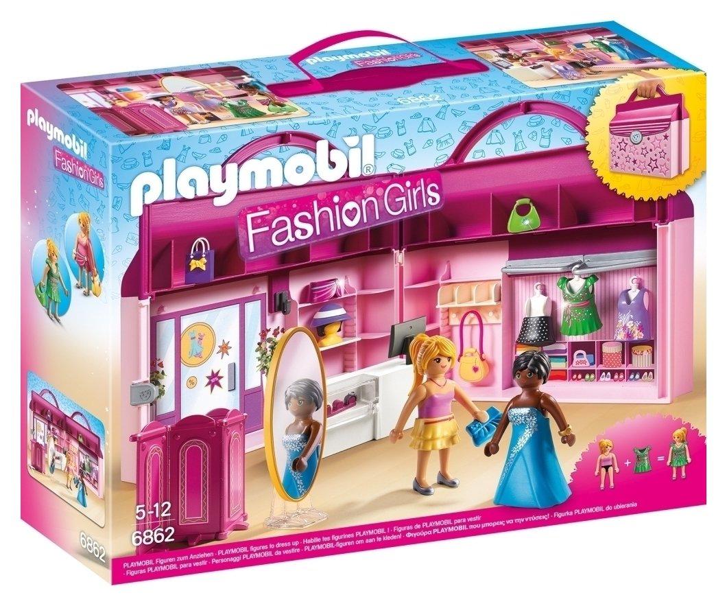 Playmobil 6862 Fashion Girls Take Along Fashion Boutique
