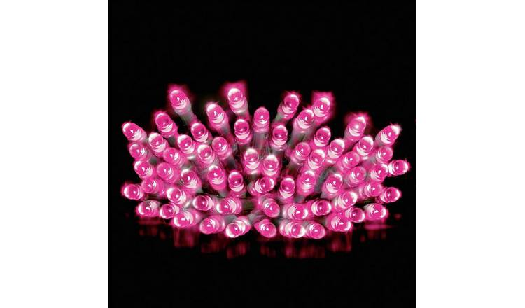 Pink Christmas Lights.Buy Premier Decorations 10m 200 Led Multi Function Lights Pink Christmas Lights Argos
