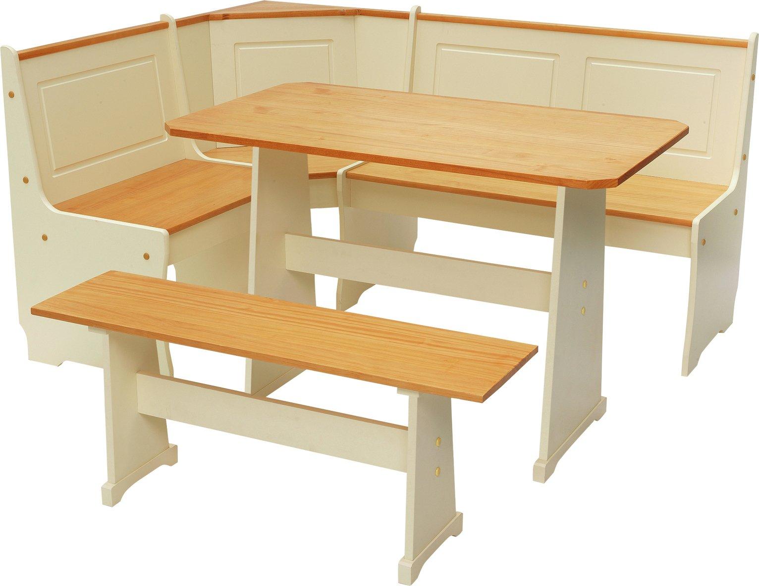 Sale On Argos Home Haversham Solid Pine Corner Dining Set