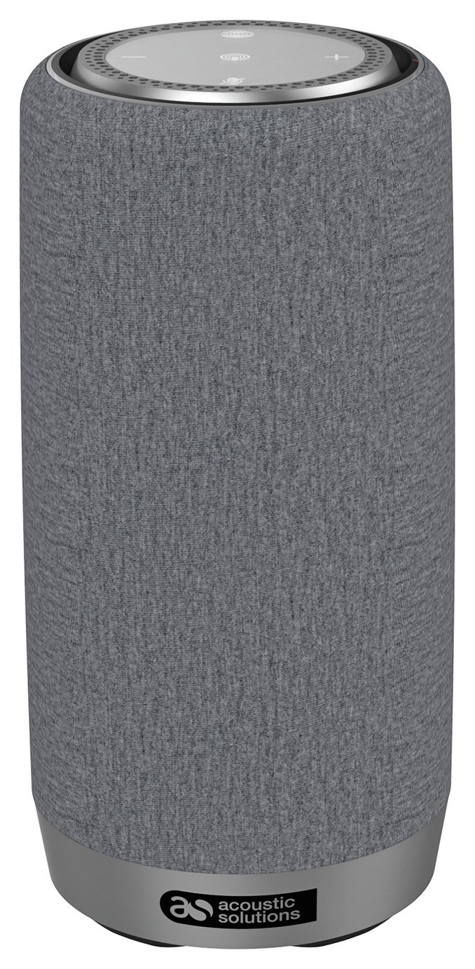 Image of Acoustic Solutions Wireless Speaker with Amazon Alexa - Grey