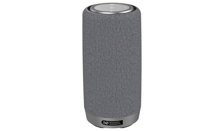 Alexa Bluetooth Speaker >> Buy Acoustic Solutions Wireless Speaker With Amazon Alexa Grey