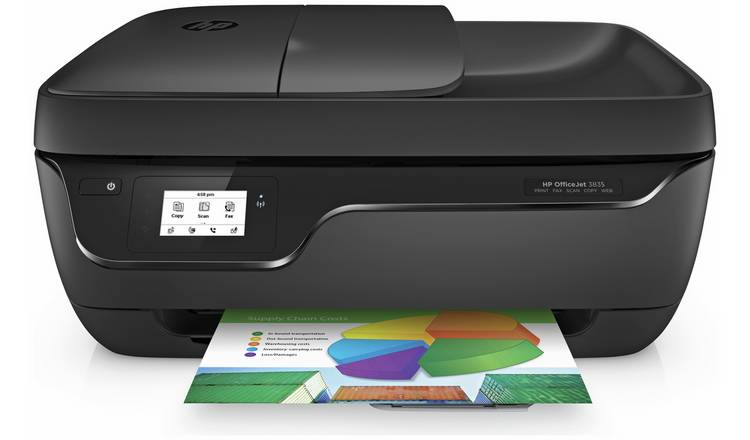 HP OfficeJet 3835 Wireless Printer & 5 Months Instant Ink