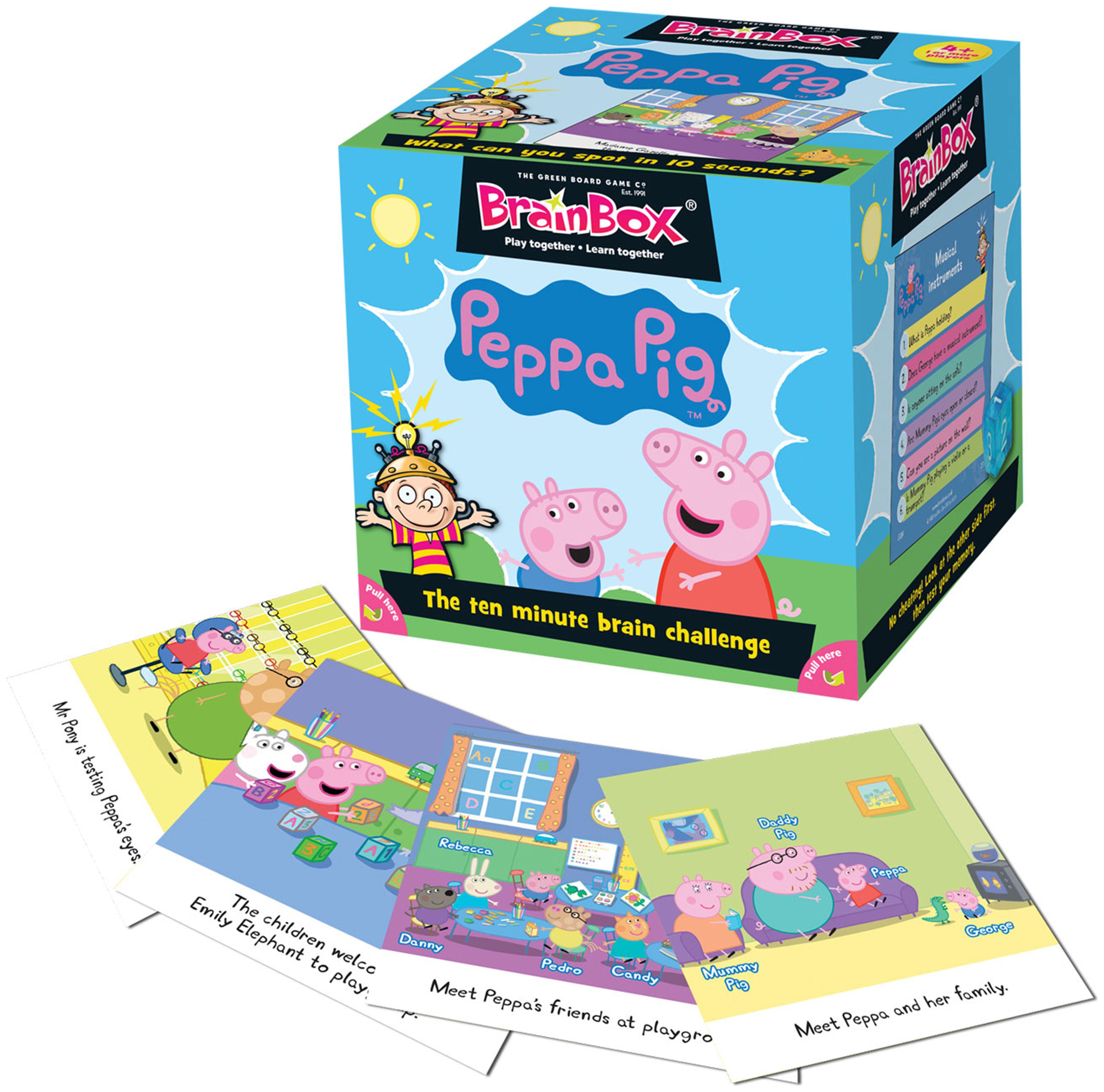 Image of Brainbox Peppa Pig Game.