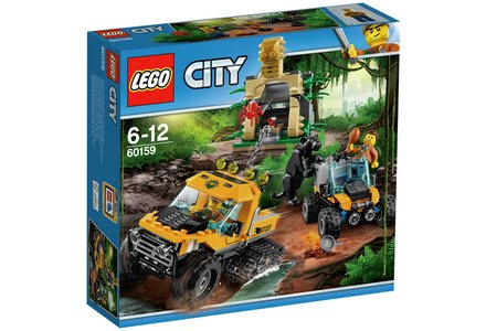LEGO City Jungle Halftrack Mission - 60159