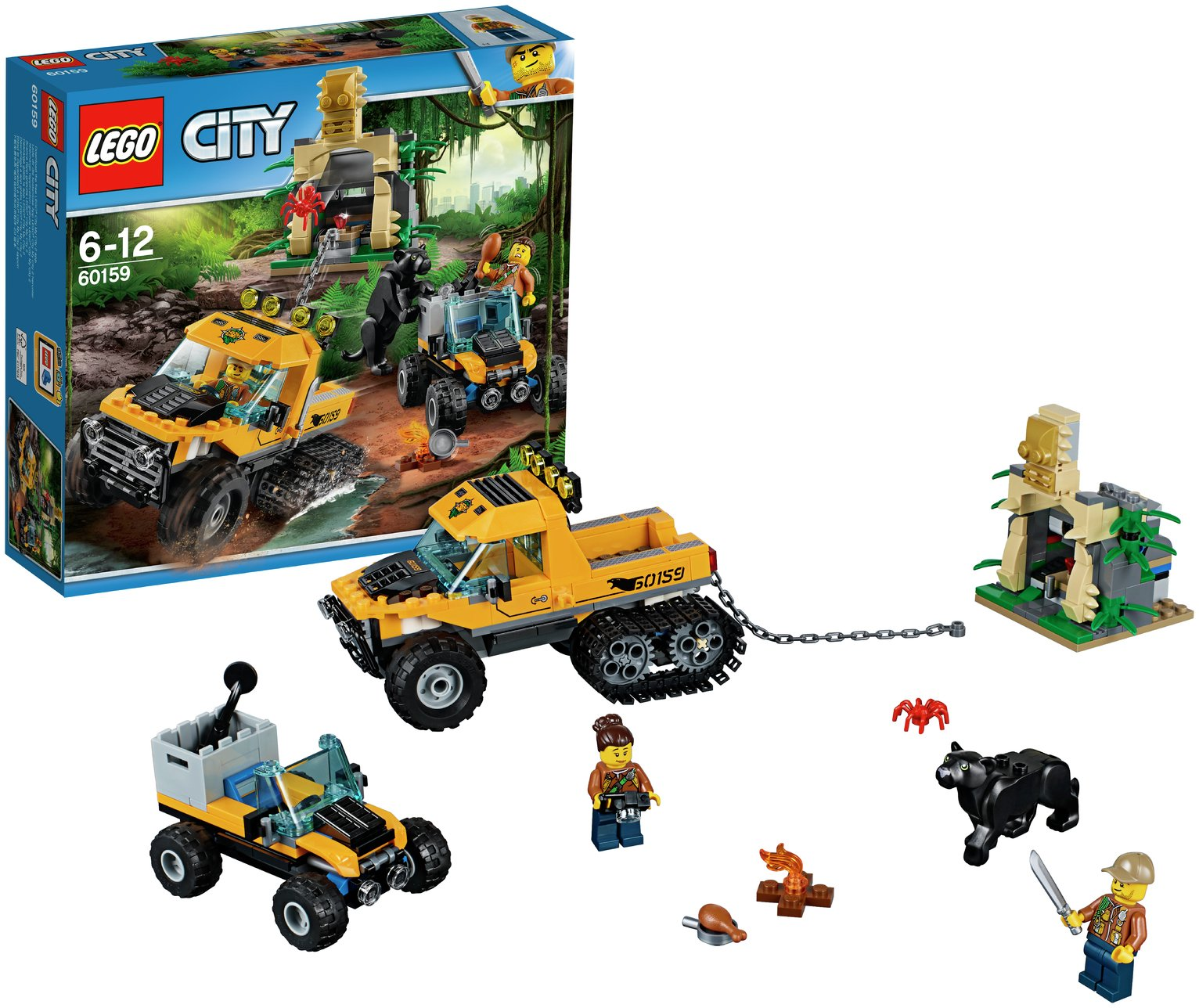 Buy LEGO City Jungle Halftrack Mission - 60159   LEGO   Argos