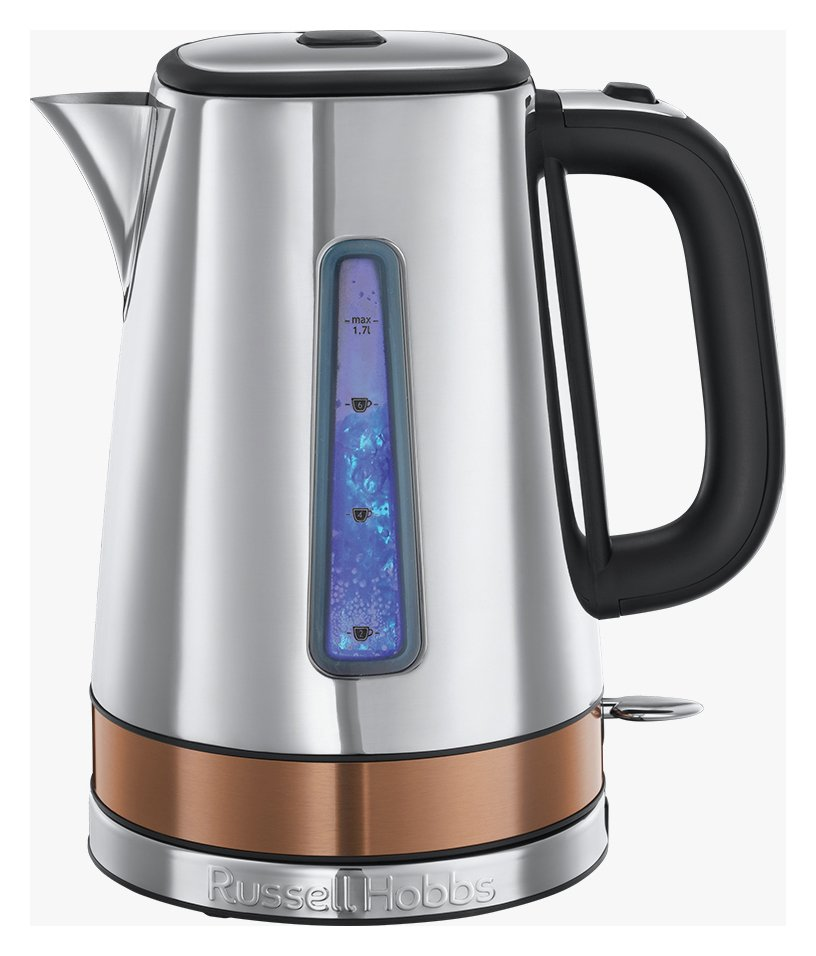 Russell Hobbs 24280 Luna Quiet Boil Jug Kettle - Copper