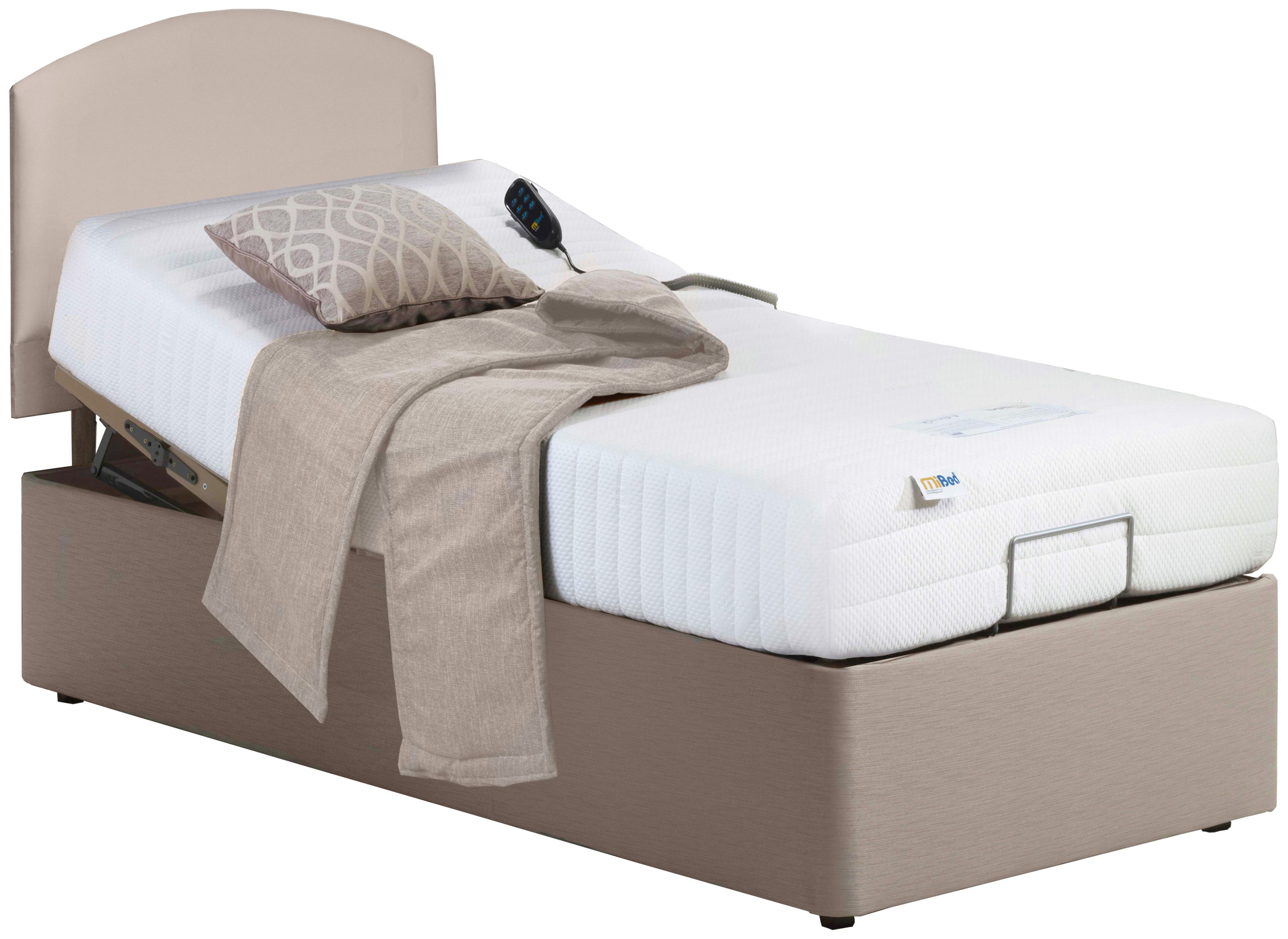 MiBed Adjustable 3'0 Lerwick Single Bed