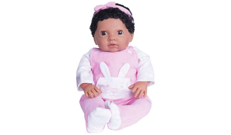 ad80554e8df Chad Valley Tiny Treasures Baby with Pink Outfit & Headband717/8832