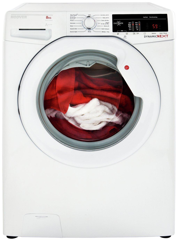 Image of Hoover DXOA147LW3 7KG Spin Washing Machine - White + Installation