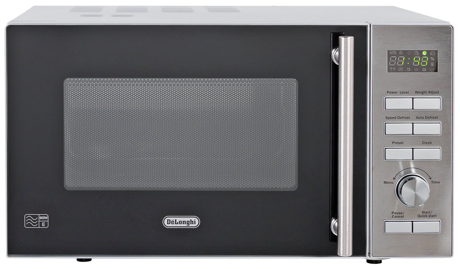900w standard microwave p90d stainless steel