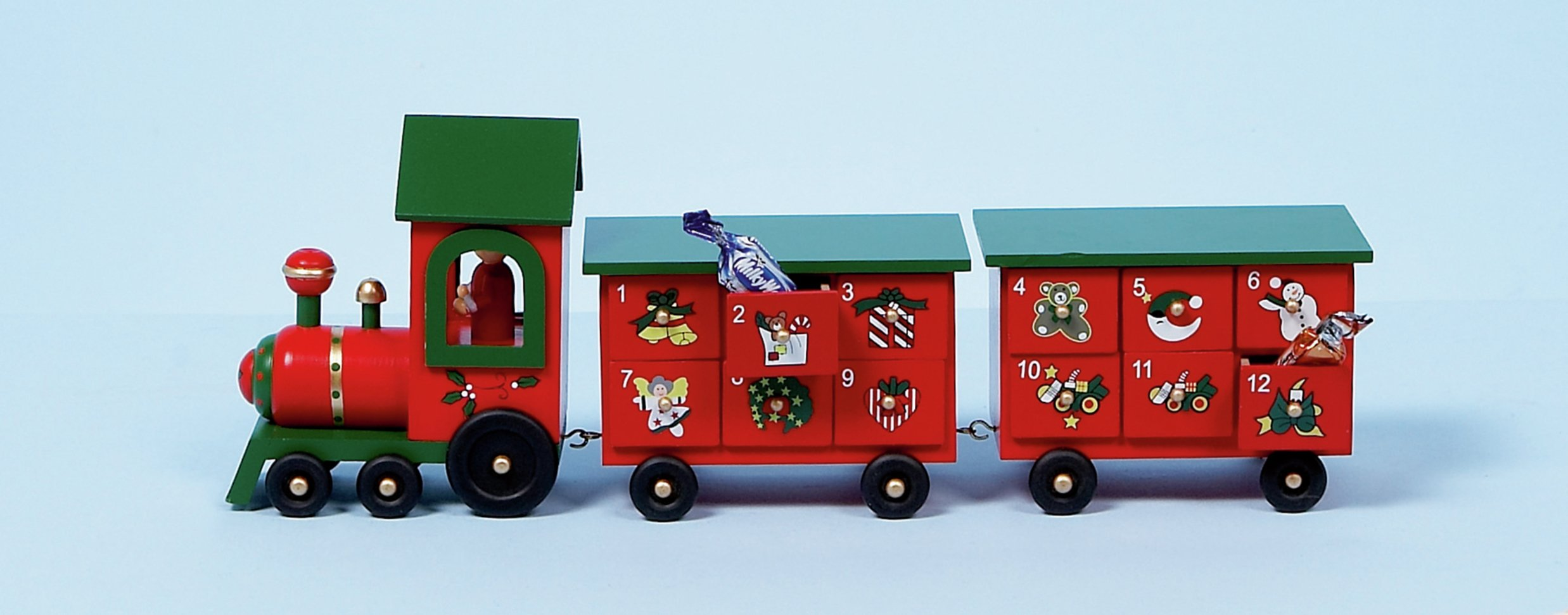 premier-decorations-wooden-train-advent-ornament-red
