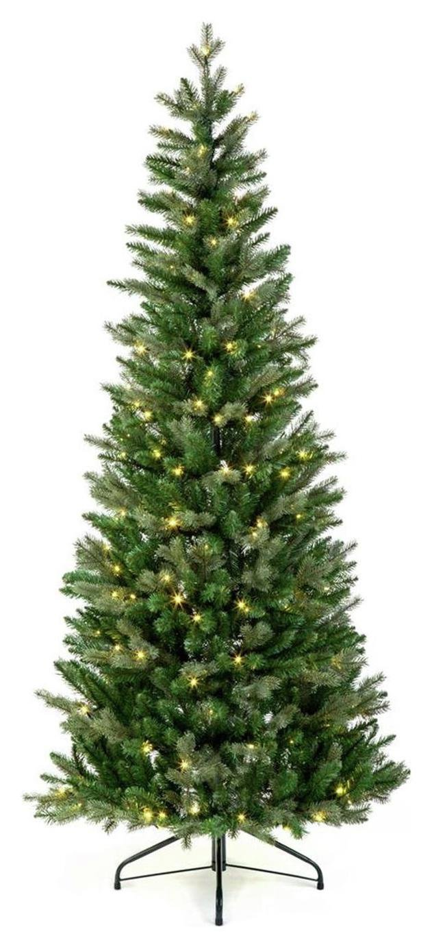 Premier Decorations 6ft Campbell Spruce Pre-Lit Pop Up Tree
