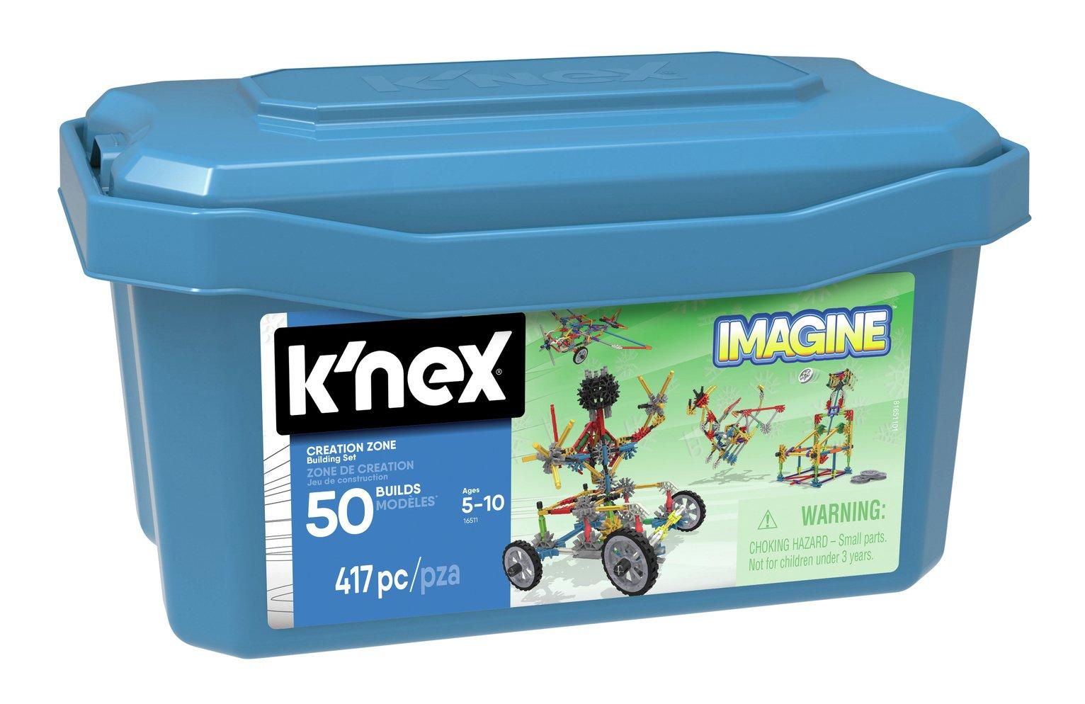 K'NEX Imagine Creation Zone 50 Model Building Set