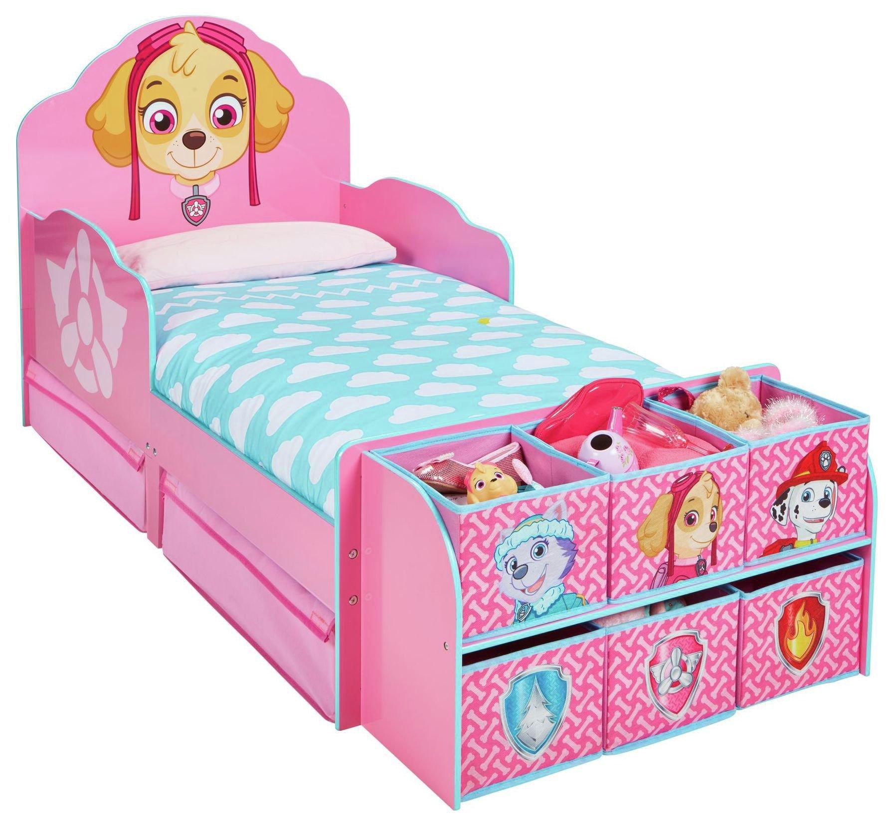 PAW Patrol Skye Cube Toddler Bed Frame.