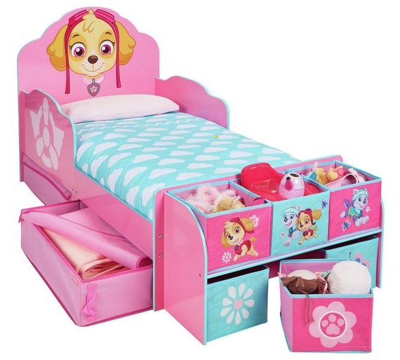 Click to zoom. Buy PAW Patrol Skye Cube Toddler Bed Frame at Argos co uk   Your