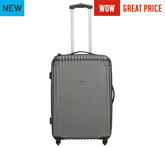 Buy IT Luggage Hard 4 Wheel Medium Suitcase - Grey at Argos.co.uk ...