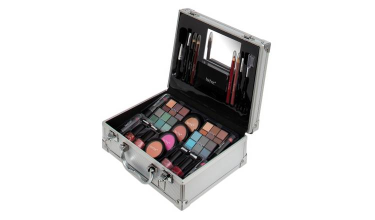 Technic Large 45 Piece Beauty Case with Makeup