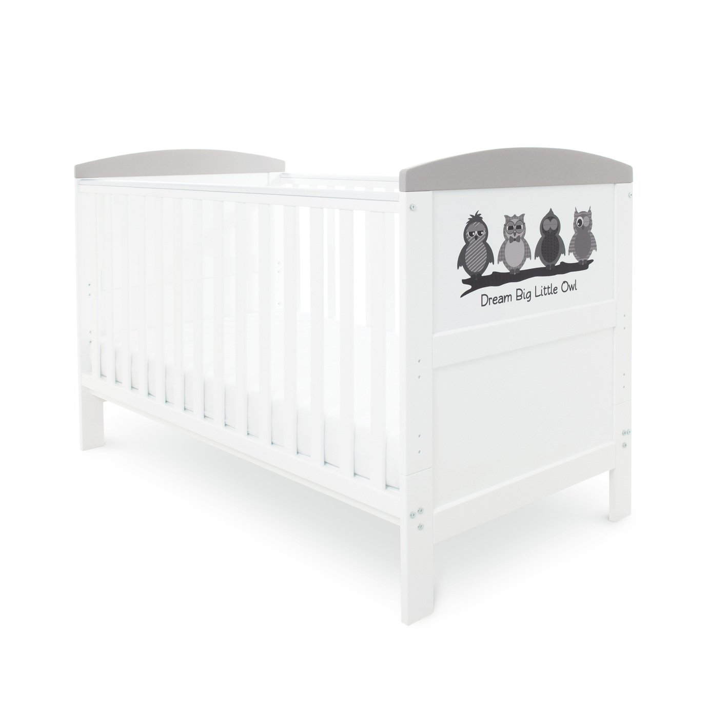 Babyhoot Coleby Style Cot Bed - Dream Big Little Owl
