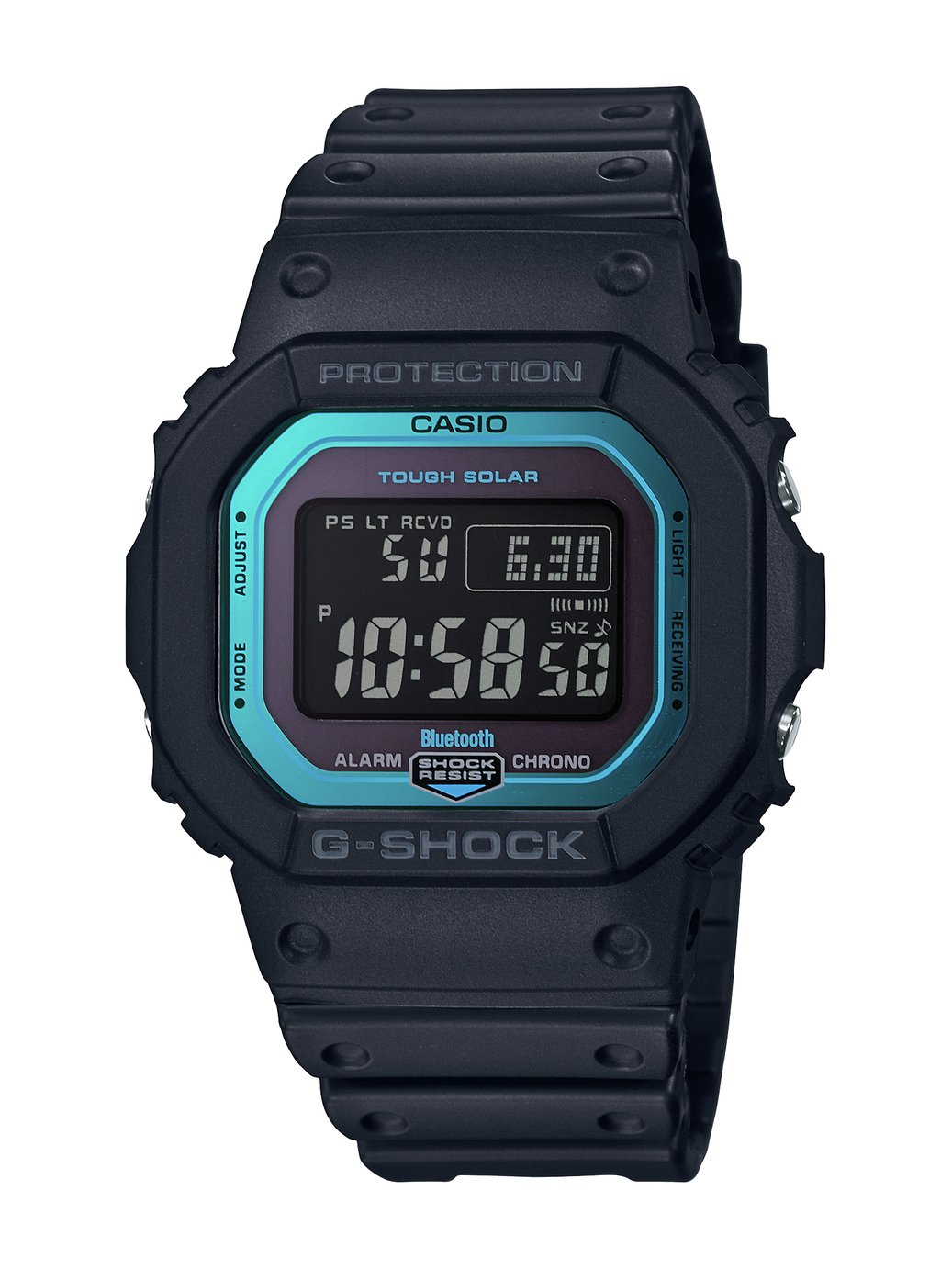 Casio G-Shock Men's Bluetooth Black Resin Watch