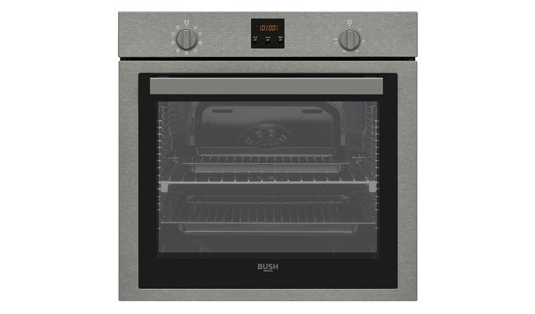 Bush BIDIOSX Built In Single Electric Oven - Dark Inox