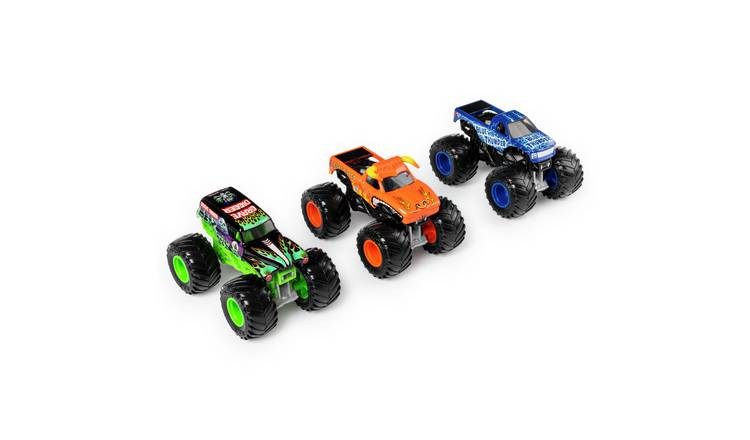 Monster Jam 1:64 Diecast Trucks 3 Pack Set