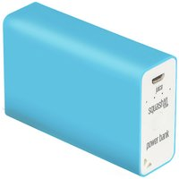 Juice Squash - XL 5600mAh Portable Power - Bank - Aqua
