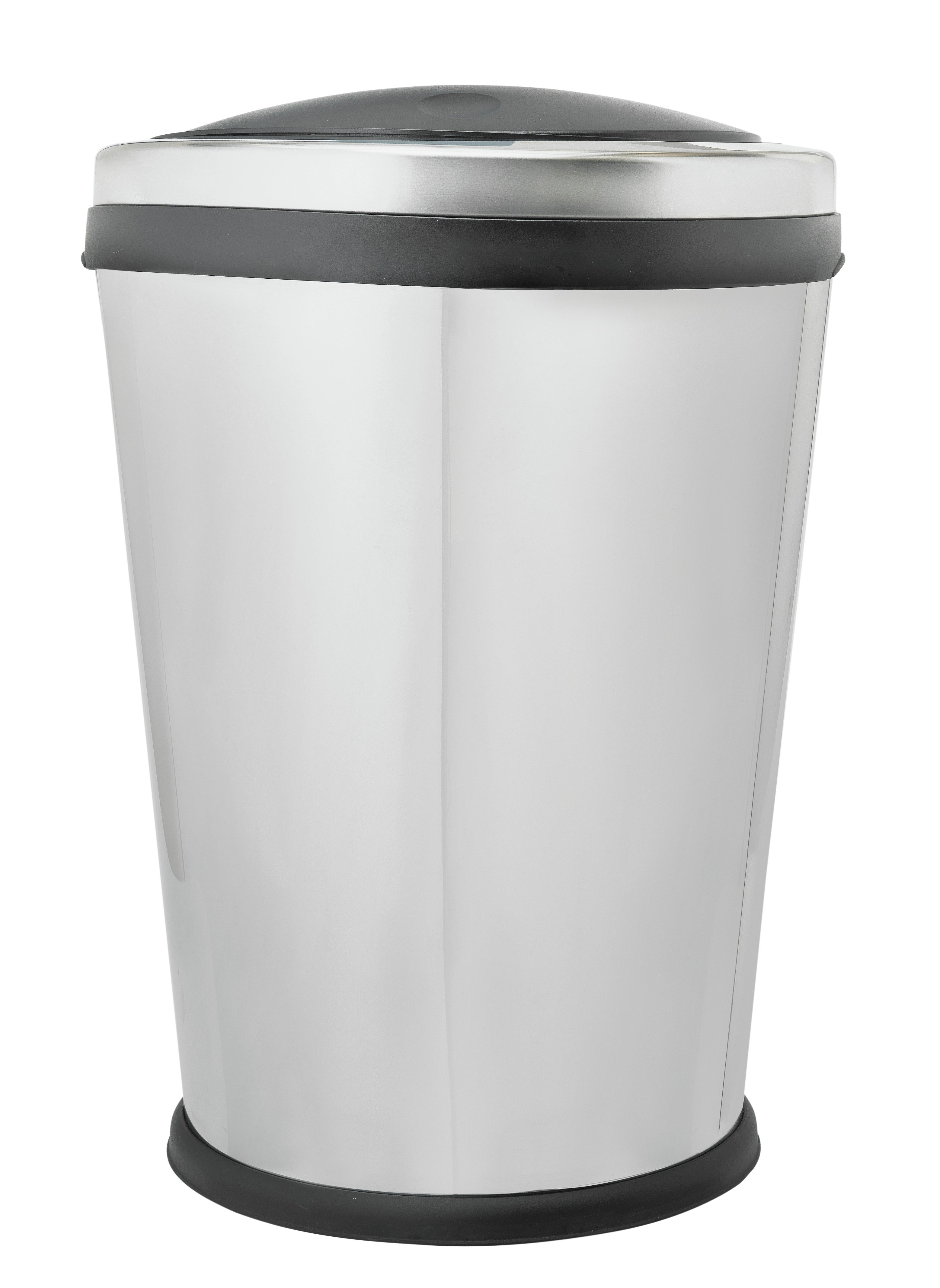 Image of HOME 60 Litre Oval Touch Top Kitchen Bin