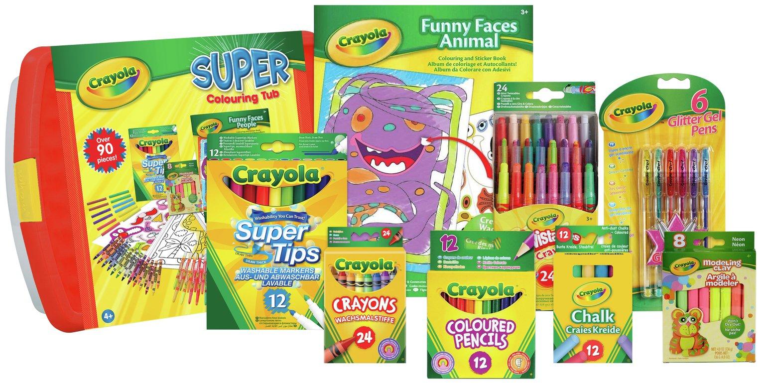 Image of Crayola Super Colouring Tub