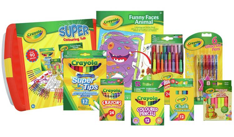 Crayola Super Colouring Tub