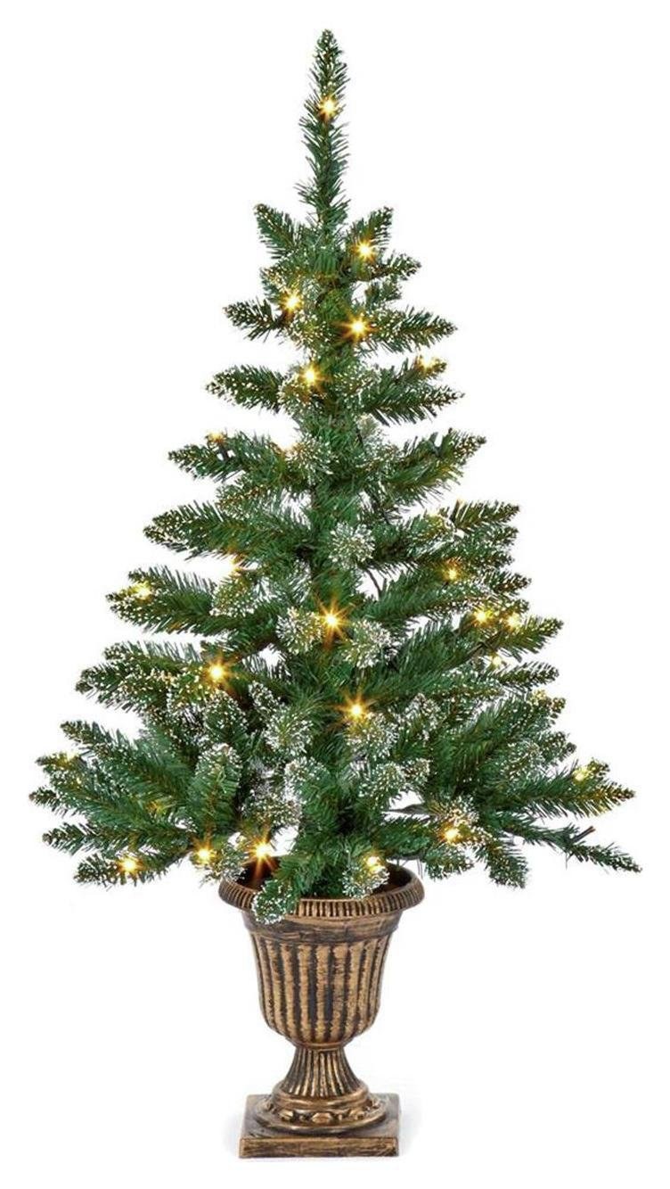 premier-decorations-3ft-pre-lit-flocked-table-tree-brown