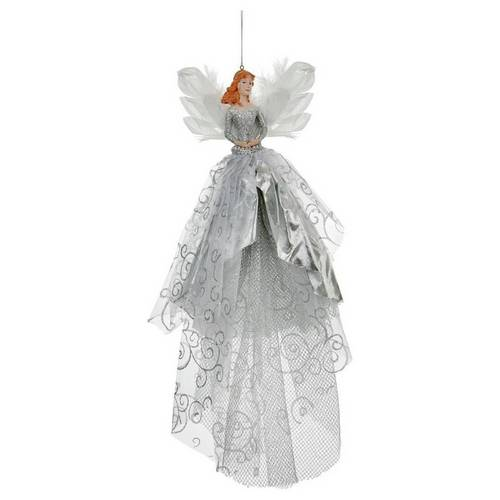 official photos eed5a d5181 Buy Premier Decorations Fairy Tree Topper Decoration - Silver | Christmas  tree decorations | Argos