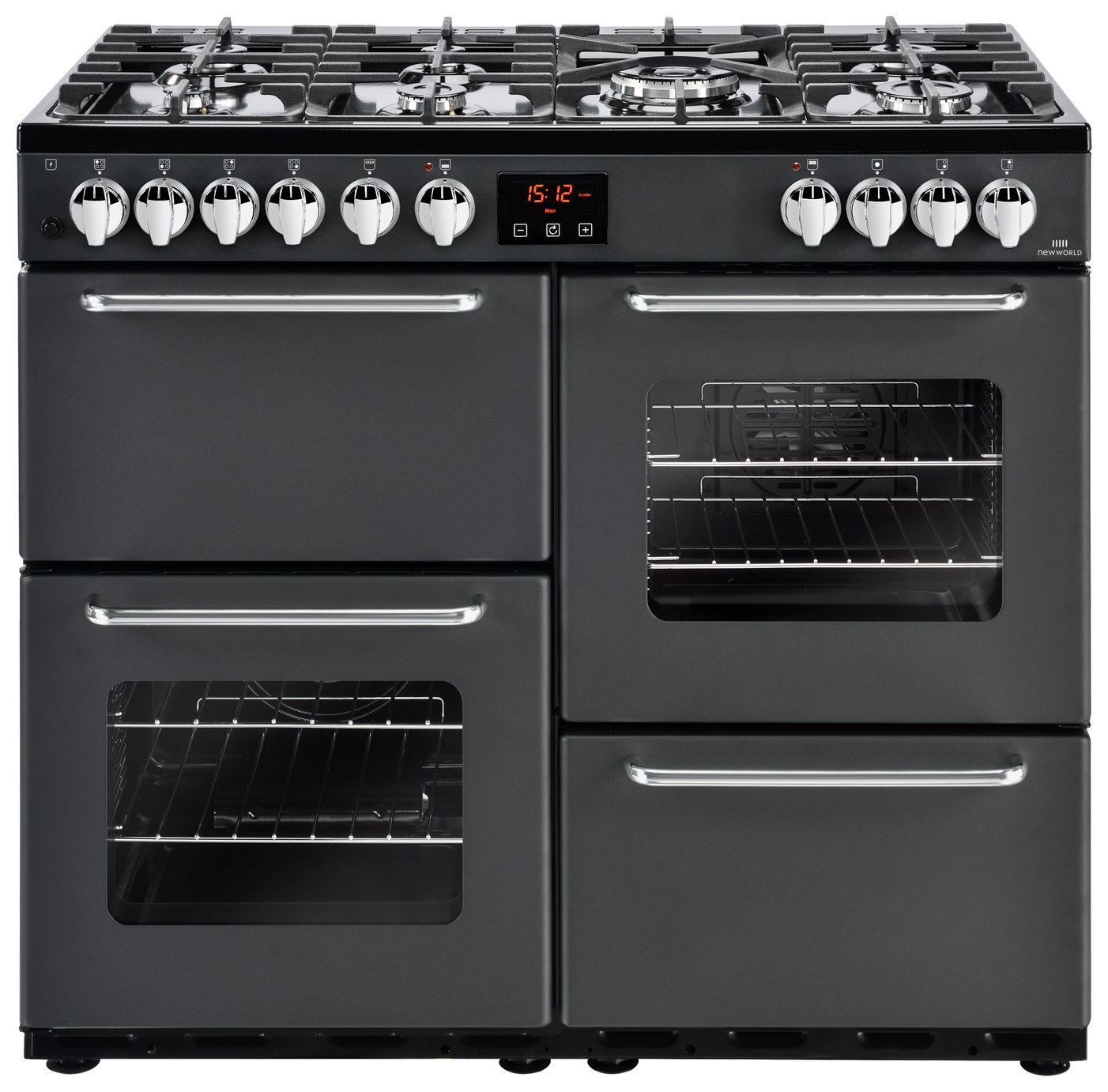 New World Traditional Dual Fuel Range Cooker