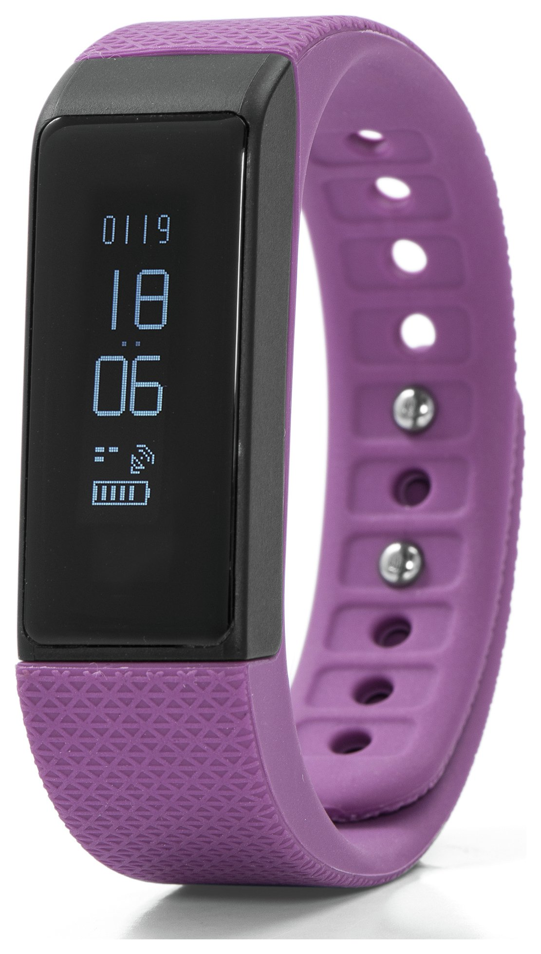 Nuband I Touch Fitness Tracker - Plum