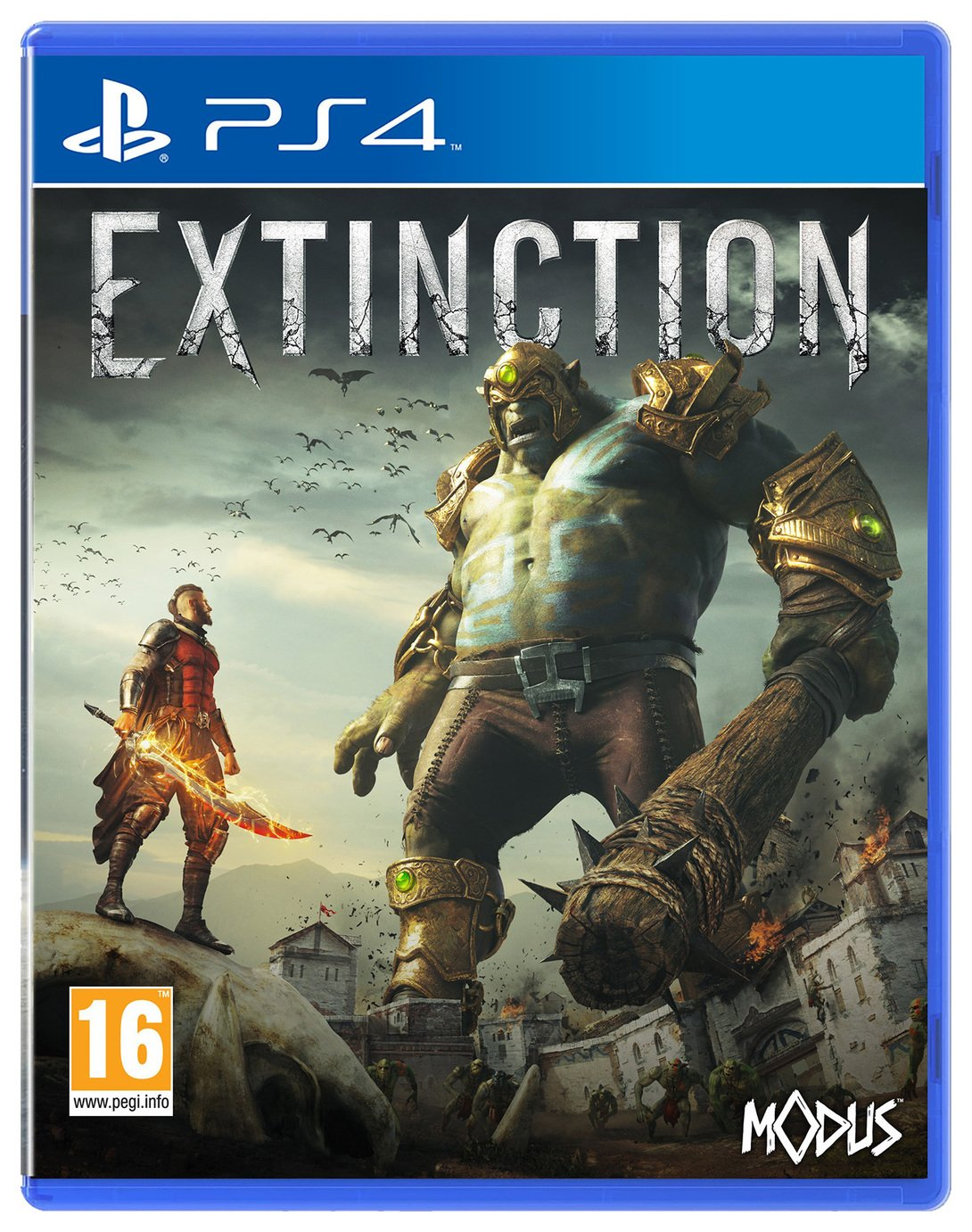 Image of Extinction PS4 Game
