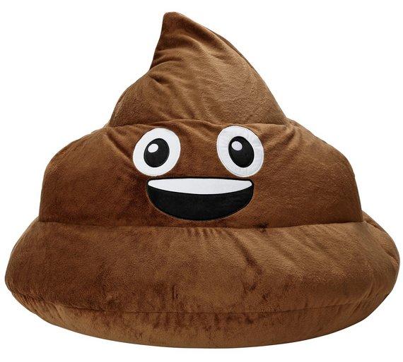 HOME Gomoji Poo Beanbag