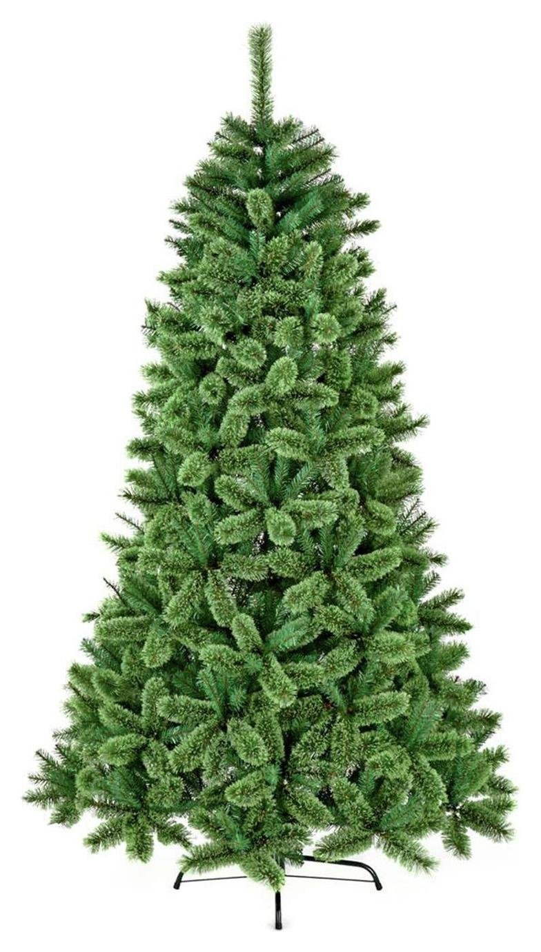 premier-decorations-7ft-hinged-cashmere-fir-tree-green