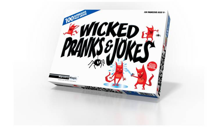 Marvin's Magic Wicked Pranks and Jokes Set