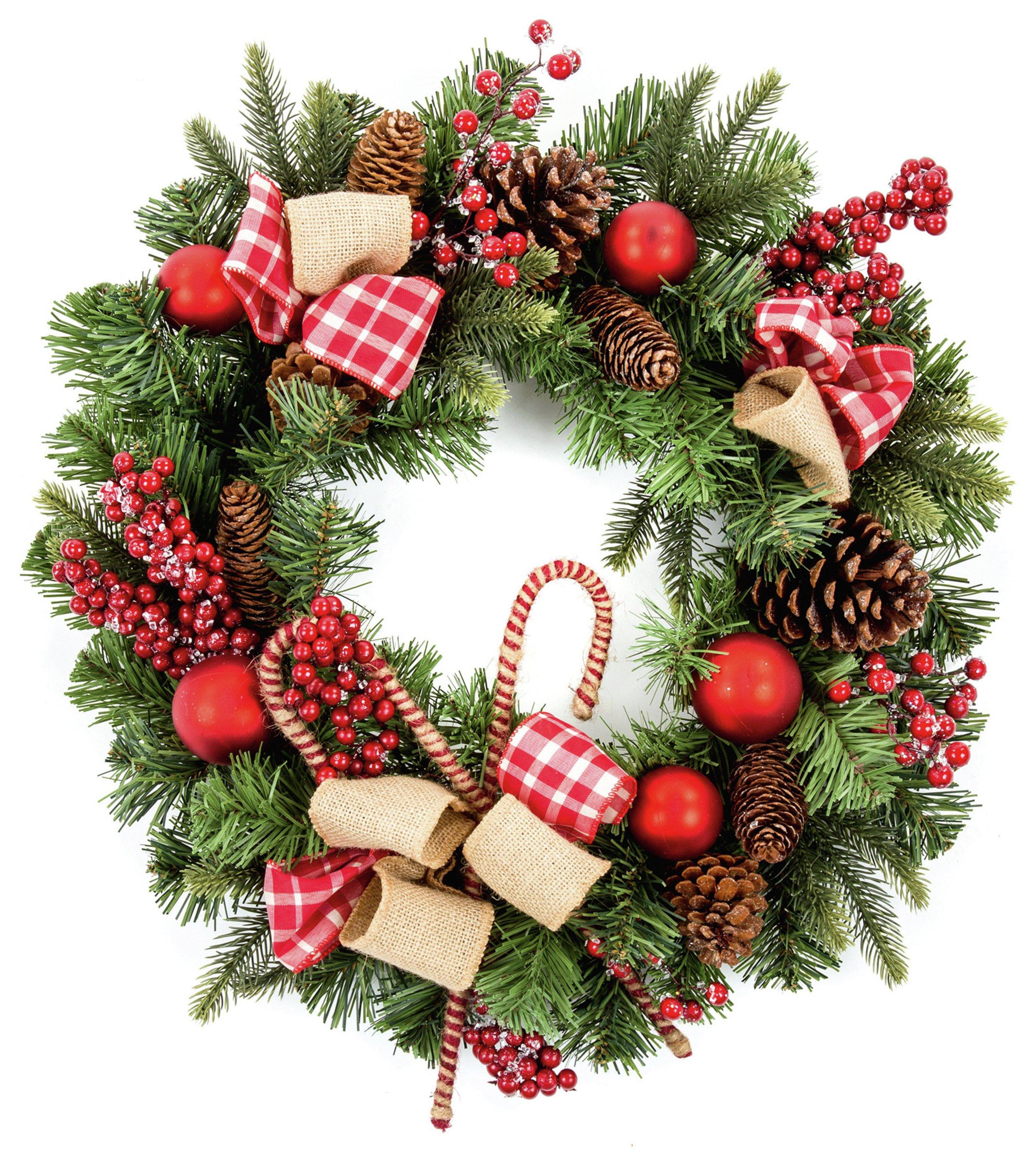 premier-decorations-55cm-candy-cane-stick-wreath-green