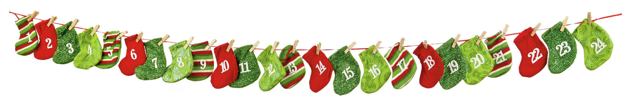 premier-decorations-16m-mini-advent-stocking-garland