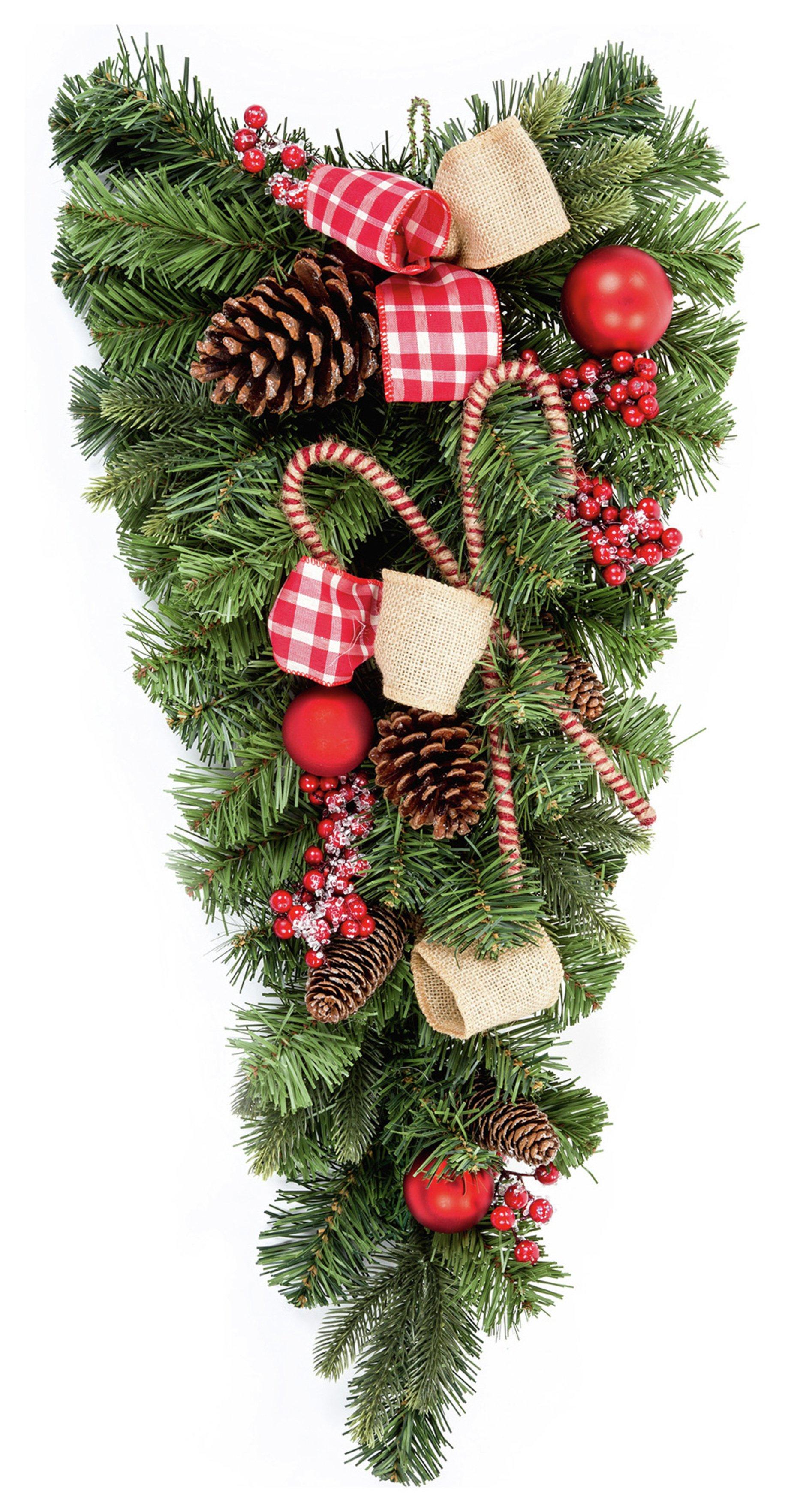 premier-decorations-70cm-candy-cane-teardrop-decoration