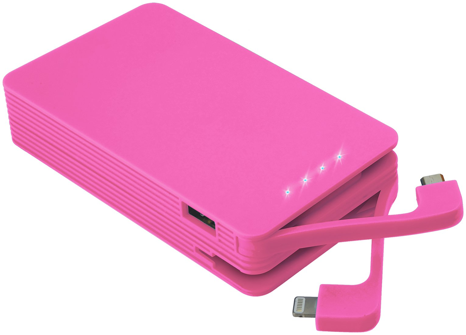 Juice Weekender Portable Power Bank - Pink